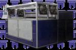 Термовакуумформовочные машины двусторонний нагрев и предварительный раздув листа, автоматическое управление (ТВФМ-5)